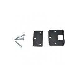 Монтажный комплект lite на пластик. дверь (черный)