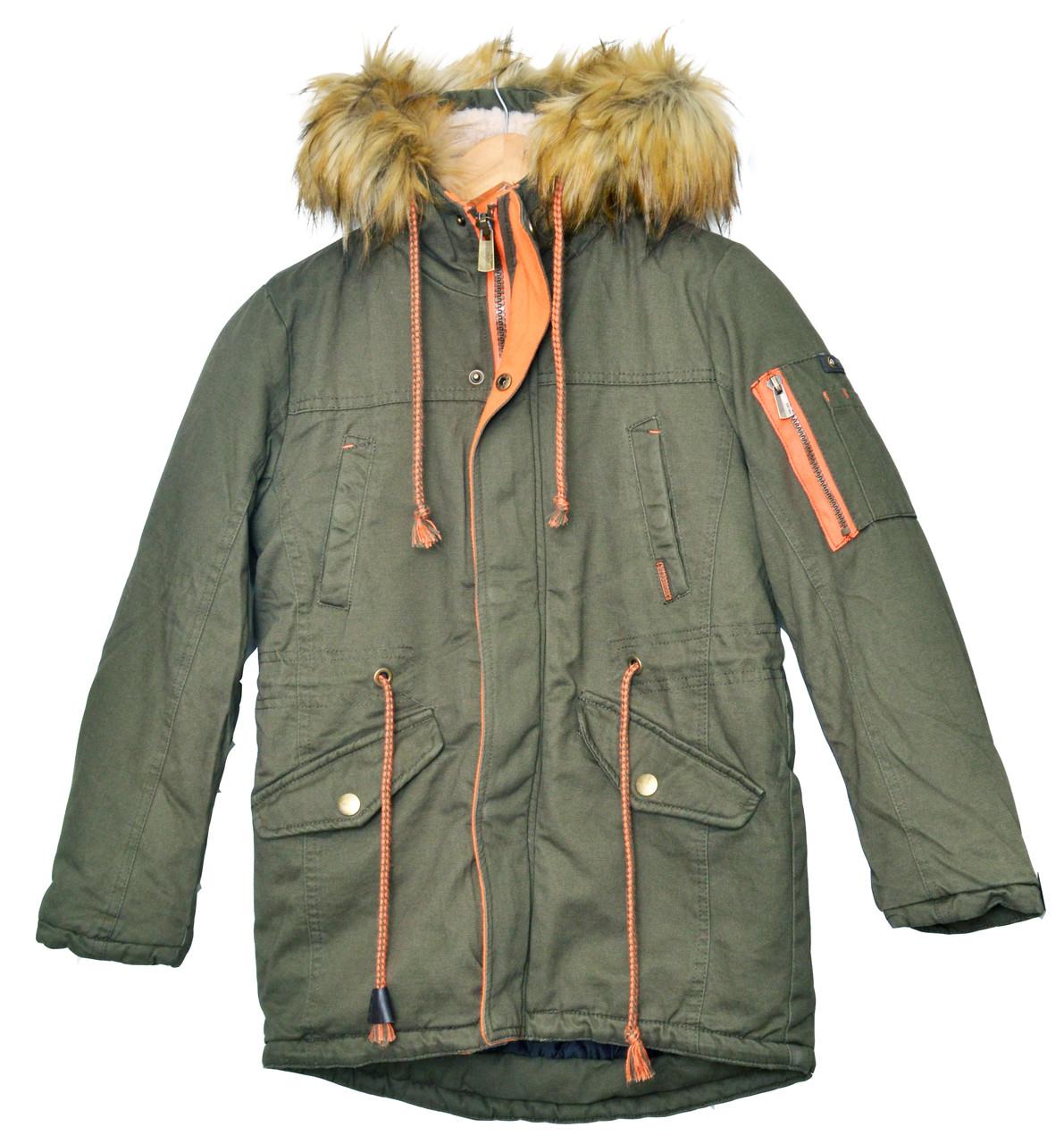 Зимняя куртка для мальчика подростка, Парка