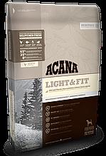 Корм Acana (Акана) Heritage Adult Light Fit для взрослых собак с избыточным весом, 2 кг