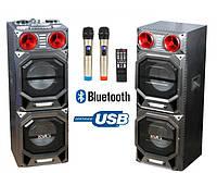 Активная акустика T-262 с двумя радиомикрофонами 500Watt (USB/Bluetooth)