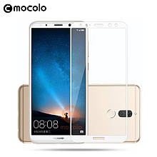 Защитное стекло Mocolo 2.5D 9H на весь экран для Huawei Honor 7X белый