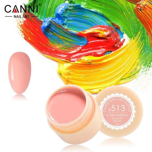 Гель краска Canni 5 мл №513