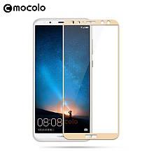 Защитное стекло Mocolo 2.5D 9H на весь экран для Huawei Honor 7X золотой