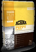 Корм ACANA (Акана) Heritage PUPPY JUNIOR  для щенков средних пород, 17 кг