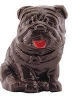 Шоколадная фигурка Бульдог, тёмный шоколад, 40 гр