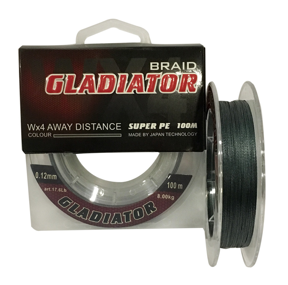 Шнур Gladiator Super PE 0.16mm 100m