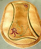 Овальный ковер на пол Magnolia 0141 бежевый