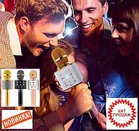 Беспроводной караоке микрофон со встроенной колонкой Karaoke Tuxun Q7s