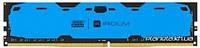 GOODRAM Модуль памяти для компьютера DDR4 8GB (2x4GB) 2400 MHz Iridium Blue (IR-B2400D464L15S/8GDC)