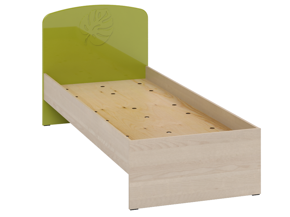 Кровать МДМ-11 лайм  Маугли Санти-мебель