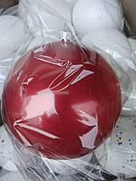 Большой новогодний шар  (17) 15 см.