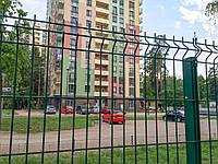 Секционная 3Д ограда 1,5 м х 2,5 м забор с ПВХ 3х4