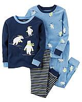 """Пижама для мальчика 4в1 Carter's """"Горнолыжник"""" р.6"""