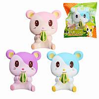 Oriker Squishy Tori Hamster 12cm Soft Sweet Slow Rising Original Pack Colle Collection Игрушка для подарка
