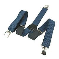 Мужские темно-синие подтяжки Top Gal 40-Y jeans/кант с темным кантом