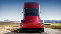 Сумасшедший разгон электротягача Tesla сняли на видео