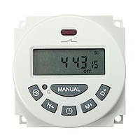 Excellway® L701 12V/110V/220V LCD Цифровое программируемое управление Реле времени переключения таймера питания