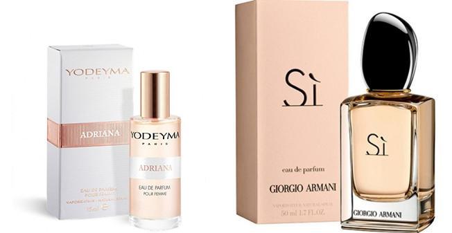 парфюмированная вода Adriana Yodeyma 15ml идентичный Si Giorgio