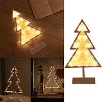 Рождество LED Рамка стола Мини Ночной свет стол Лампа Свадебное Спальня Рождественский декор Подарки