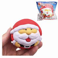 SquishyFun Снежный снеговик Дед Мороз Дед Мороз 7см Медленный рост с коллекцией подарков Подарочный набор