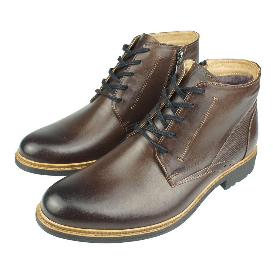 Зимове Чоловіче Взуття Tapi A-2301 Brazowy Коричневого Кольору — в ... dd74ba40e2650