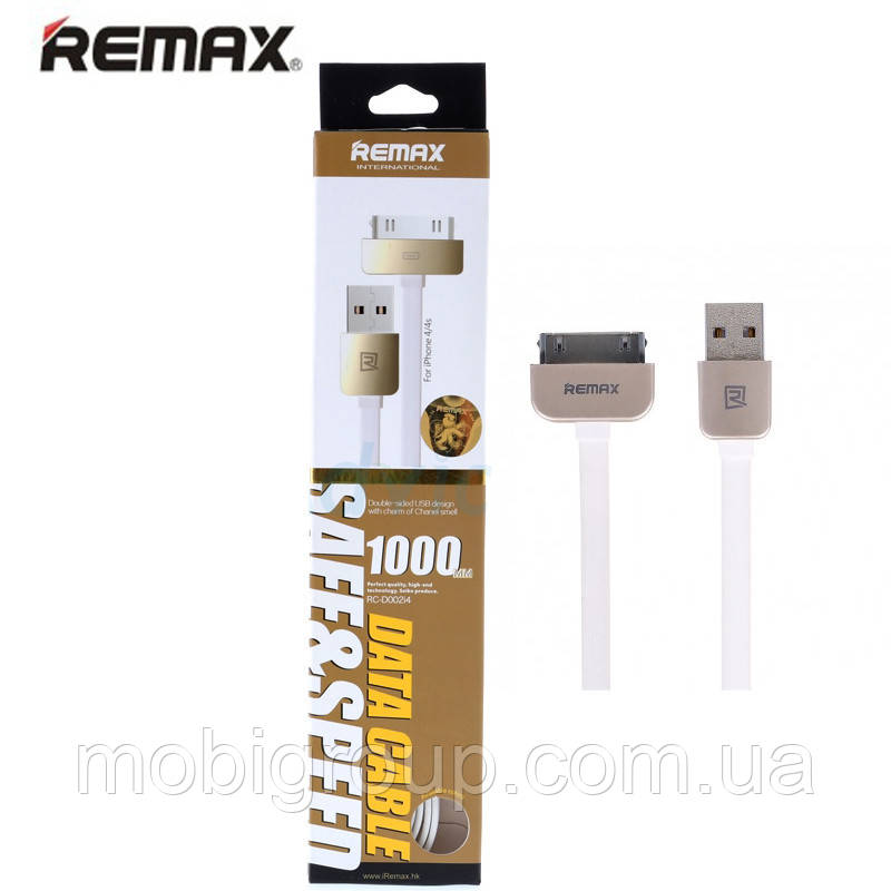 Кабель Remax iPhone 4 RC-D002i4, 1000mm