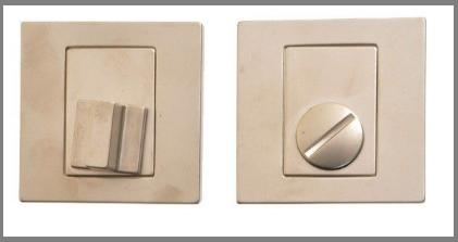 Фиксатор сантехнический  WC Nomet T-004-121 G5 никель матовый