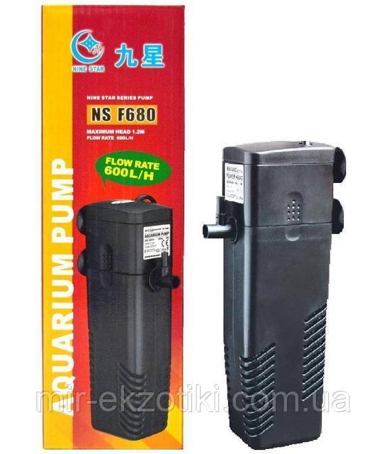 Фильтр Minjiang NS-F680 до 100 литров - МИР ЭКЗОТИКИ . Аквариумы от производителя, оборудование, растения,  рыбки и пр. Растения для водоема в Киеве