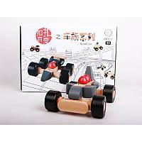 Umu Buckle Авто Деревянные игрушки для детей Jigsaw Обучающие игрушки Пазлы Логические головоломки Модель