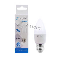 Светодиодная лампа Z-Light свеча LED C37 7W E27
