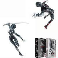 Figma Black Кукла Man Action Figure Figma Archetype Кукла Подвижная ручка из ПВХ Модель Кукла Toy