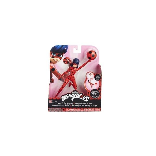 Кукла ЧУДЕСНАЯ ЛЕДИ БАГ серии ЛЕДИ БАГ И СУПЕР-КОТ 19 см с аксессуарами