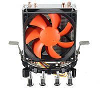 Двойной шестимиллиметровый охладитель охлаждающего вентилятора с тепловым насосом для LGA1156 / 1155 LGA775 AMD754 AMD AM2 / AM2 + AM3