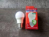 Лампа світлодіодна LB-32 BALL 8W Е27 4000K ELECTRUM