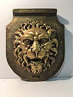 Гипсовый декор стен, Панно  Голова льва