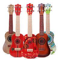 21 дюймов 4 строки красочные игрушки Ukulele китайский стиль для детей подарок