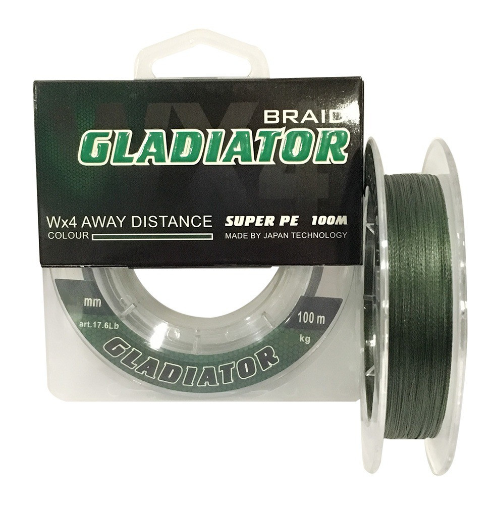 Шнур Gladiator Super PE 0.16mm 100m