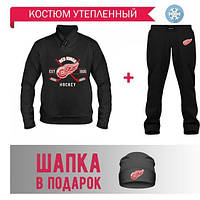 GlobusPioner Спортивный теплый Костюм DETROIT HOCKEY (67496,13991,13991) 69666