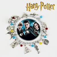 """Браслет с множеством подвесок """"Гарри Поттер"""" (Hurry Potter), фото 1"""