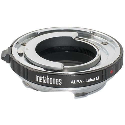 Metabones Alpa Lens to Leica M-Mount Camera Adapter with 6-Bit Coding (MB_ALPA-LM-BM2)