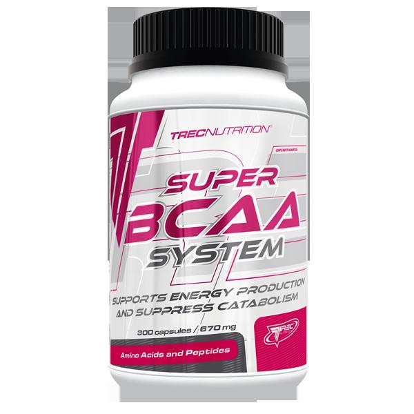 Trec Nutrition Super BCAA System 150 caps
