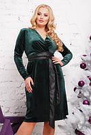 Очень красивое бархатное платье большие размеры