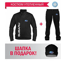 GlobusPioner Спортивный теплый Костюм SUBARU (66665,66659,66659) 69612