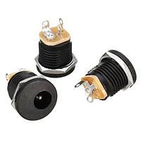 30pcs DC-022 5.5-2.1mm Круглое отверстие Болт Гайка DC Power Разъем ROHS Внутренний диаметр 5.5mm