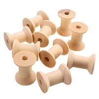 Катушки деревянные 25*20мм 6шт Tilda