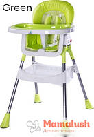 Стульчик для кормления Caretero Bistro  POP/Green