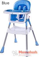 Стульчик для кормления Caretero Bistro  Pop/Blue