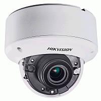 Купольная моторизированная Turbo HD видеокамера Hikvision DS-2CE56F7T-ITZ, 3Мп