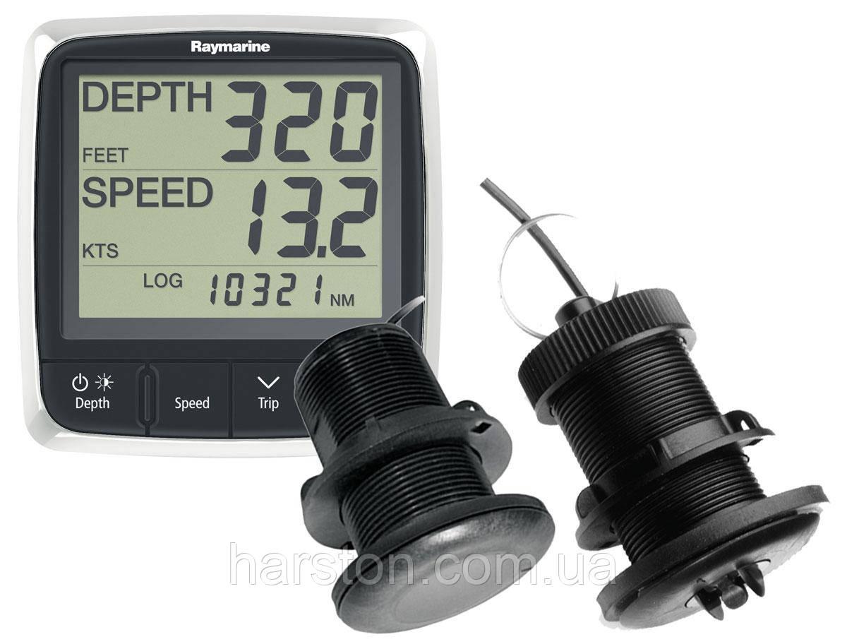 Индикатор Raymarine i50 TRIDATA с датчиком скорость/глубина/температура