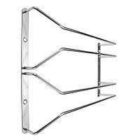 28cm Нержавеющая сталь Двойной рядный стеллаж для стекла Стеллаж для хранения Вешалка для домашней бары